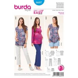 Patron Femme Coordonnés Burda n°6607