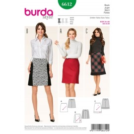 Patron Jupe Burda n°6612