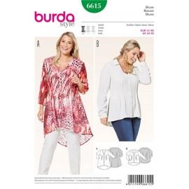 Patron Blouse Burda n°6615