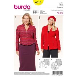 Patron Veste Burda n°6616