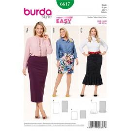 Patron Jupe Burda n°6617