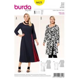 Patron Robe Burda n°6621