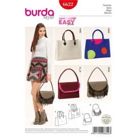Patron Sacs Burda n°6622