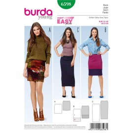 Skirt Burda Sewing Pattern N°6598