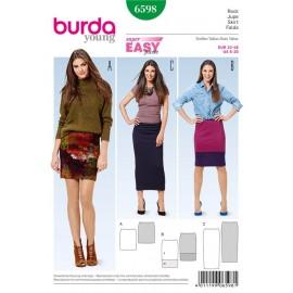 Skirt Burda Sewing Pattern N°6598