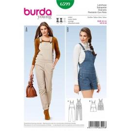 Patron Salopette Burda n°6599
