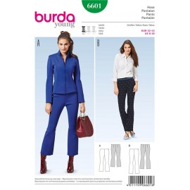 Patron Pantalon Burda n°6601