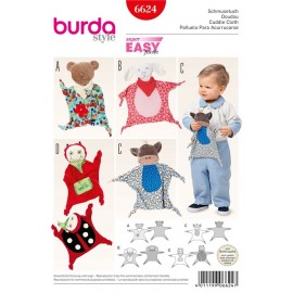Cuddle Cloth Burda Sewing Pattern N°6624