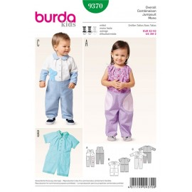 Patron combinaison Burda n°9370