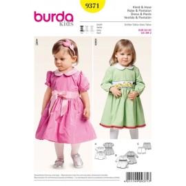 Patron Robe & Pantalon Burda n°9371