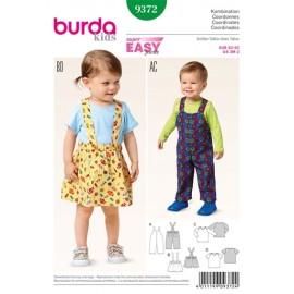 Patron Coordonnés Burda n°9372