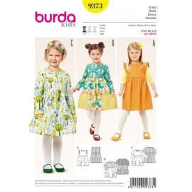 Dress Burda Sewing Pattern N°9373