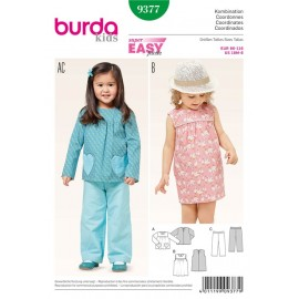 Coordinates Burda Sewing Pattern N°9377