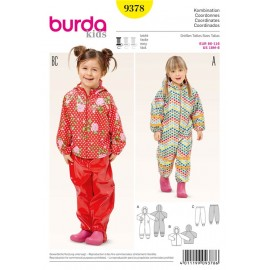 Coordinates Burda Sewing Pattern N°9378