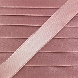 Satin ribbon - old pink x 1m