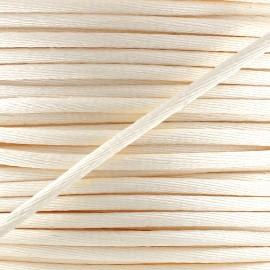 Rattail cord 2,5 mm - pinkish ecru x 1m