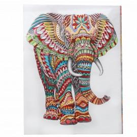 Tenture tissée Eléphant - multi