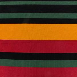 Tissu jersey viscose Bayadère - Jack x 44cm