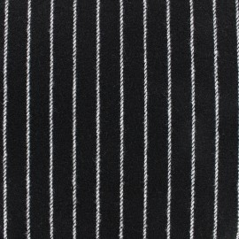 Wool fabric Buxton - black x 10cm