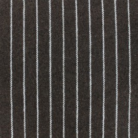 Wool fabric Buxton - brown x 10cm