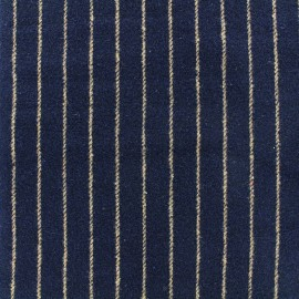 Wool fabric Buxton - navy x 10cm