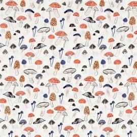 Fabric Dear Stella Foraging For Funghi- multi x 10cm