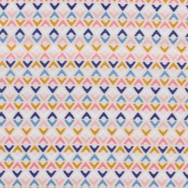 Tissu coton Dashwood Millefleur Aztec Graphic - multi x 10cm
