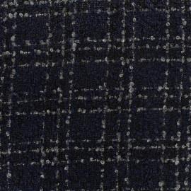 Wool fabric Orion - navy x 10cm