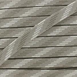 Bao Flat Braid Cord - beige x 1m