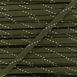 Cordon plat Eder - vert x 1m