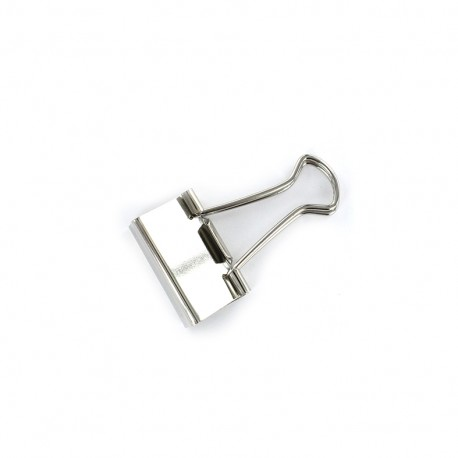 Binder clip - silver
