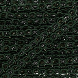 """Retro"" Lace-making Braid trimming Ribbon 15 mm - green x 1m"