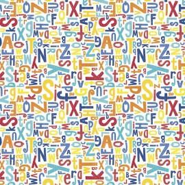 Crayola Color Me Alphabet Blanc x 10 cm