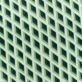 Tissu satin Royal micro satin by Penelope® - vert x 10cm