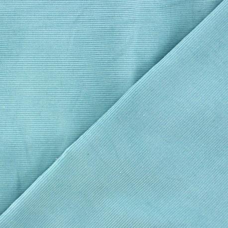 Melda Milleraies velvet fabric - light blue 200gr/ml