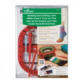 Clover standing oval knitting loom
