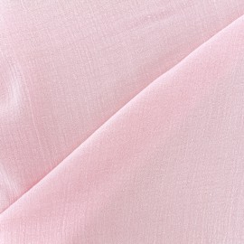 Tissu gaze de coton Solid bubble gauze - blossom x 10cm