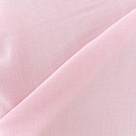 Double Gauze Fabric Solid bubble gauze - blossom x 10 cm