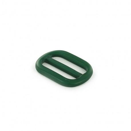 Boucle Ceinture polyester effet nacre - vert