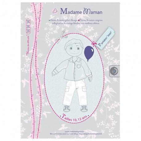 """JEAN trousers"" - sewing pattern"