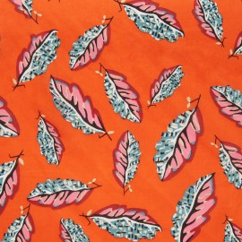 Liberty fabric - Woven leaves C x 10cm
