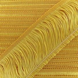 Frange Charleston 10cm - jaune x 50cm