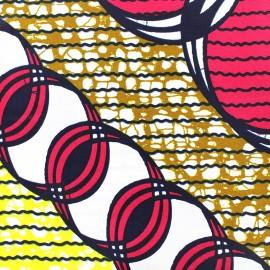 Tissu Wax - Kalia x 10cm
