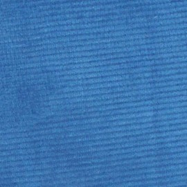 Milleraies velvet fabric - blue 300gr/ml x10cm