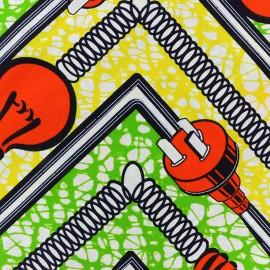 Tissu Wax - Massala x 10cm