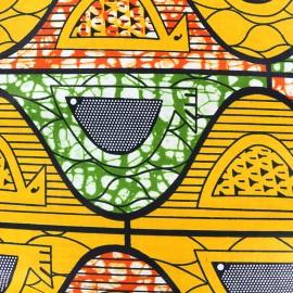 Tissu Wax - Kotido x 10cm