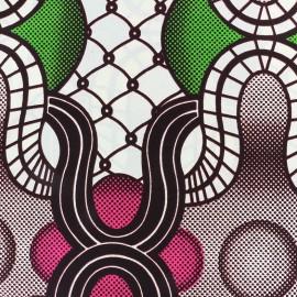 Tissu Wax - Mongu x 10cm