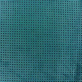 Tissu Suédine Ajourée Milky way - Pétrole x 10cm