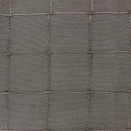 ♥ Coupon 300 cm X 280 cm ♥ Jacquard fabric Isis (280 cm) - moka