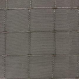 Tissu jacquard Grande Largeur Isis (280 cm) - moka x 11cm